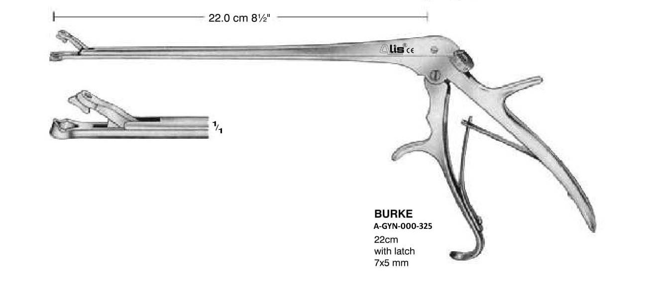 Burke surgical instruments